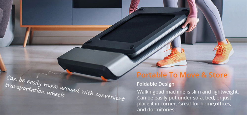Foldable A1 Pro Walking Pad for Walking and Running for Home or Sport with High Precision Sensor 10