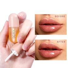 US Stock Lip Plumper Mineral Oil Lip Extreme Volume Essence Nutritious Lips Enhancer Serum Moisturizing Plumping Lip Gloss