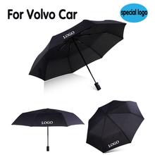 Samochód wiatroszczelny parasol automatyczny logo dla Volvo biznes parasole mężczyźni parasol godło bumbershoot dla volvo xc40 s40 s60 v40 v50 tanie tanio JYMYQP Metal Automatic umbrella paraguas parapluie Black turismo vento umbrella For volvo logo umbrella gadgets parasol
