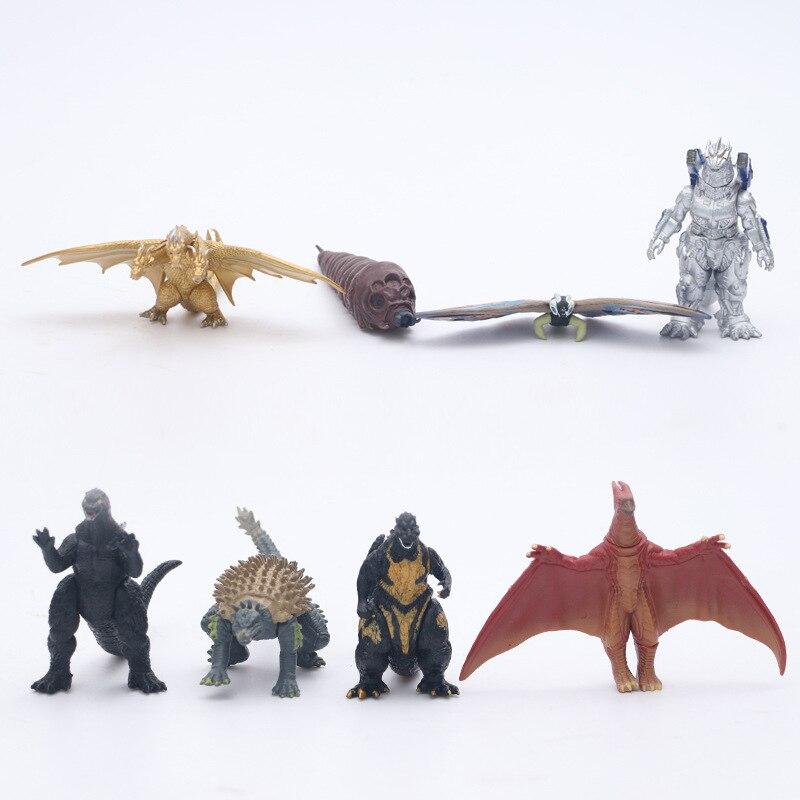 Wansheng Anime Godzilla Monster King-Model Machinery Confusion Star Dinosaur Garage Kit Doll In Doll Model