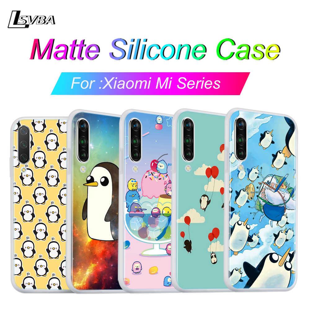 Силиконовый чехол с милым мультяшным пингвином для Xiaomi mi Note 10 9 8 Lite 9T SE A1 A2 A3 CC9 x 3 Play