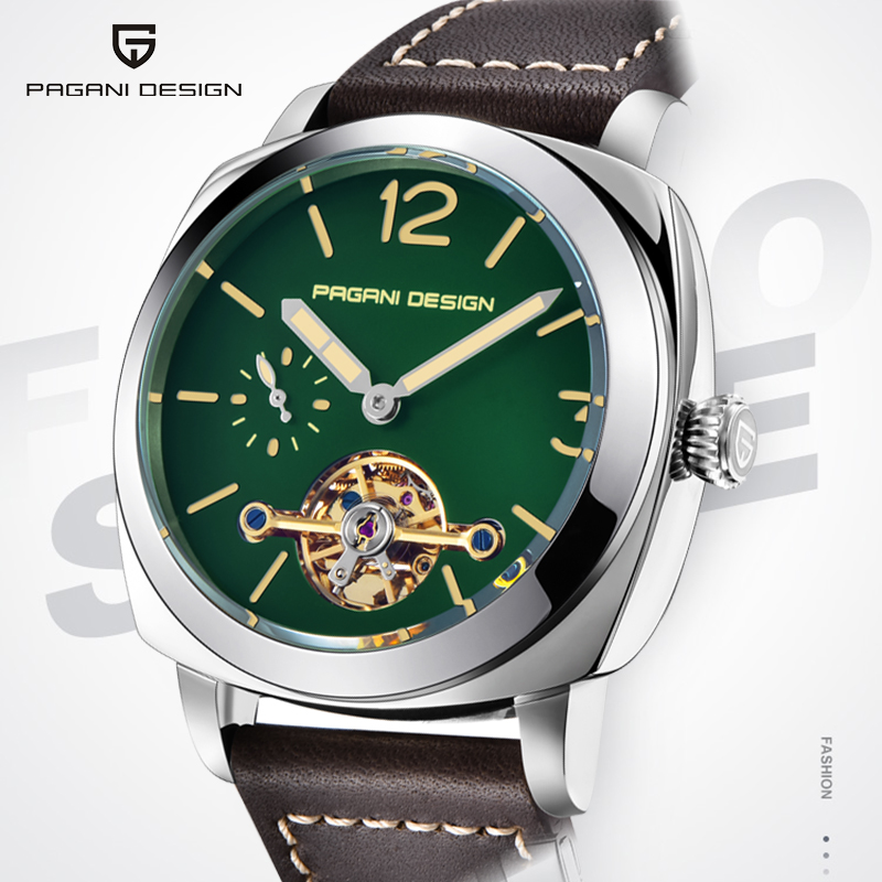 Mechanical Men's Watches PAGANI DESIGN Fashion Top Luxury Brand Men Watch Tourbillon Sport Men Wristwatch 2020 Relogio Masculino