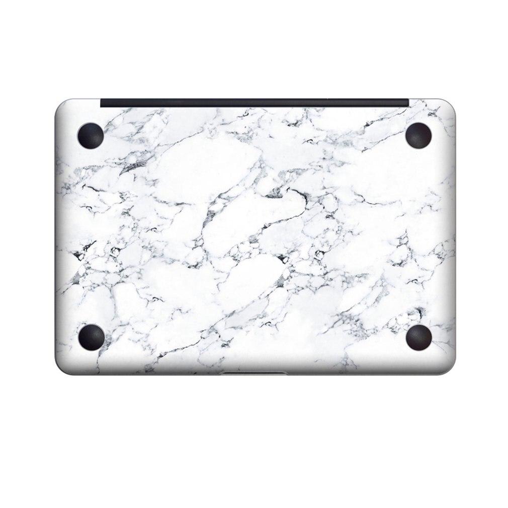 Removable PVC Bottom Skins Full Body Sticker For Macbook 13'/15