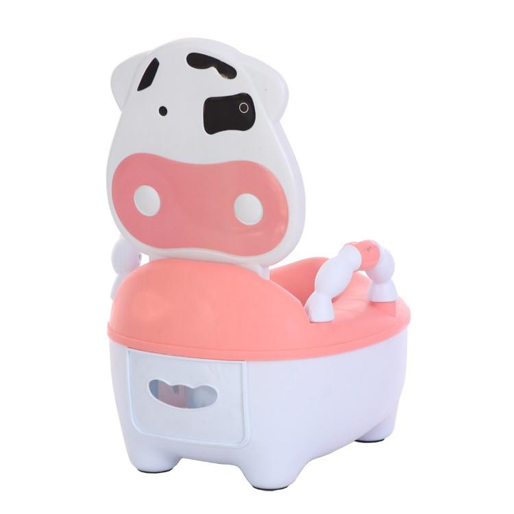 Cartoon Toilet For Kids Baby Chamber Pot Men And Women Baby Toilet Kids Chamber Pot Bedpan Hair