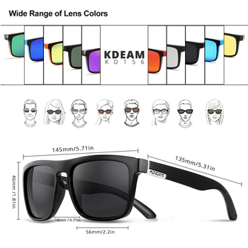KDEAM Polarized Sunglasses  2