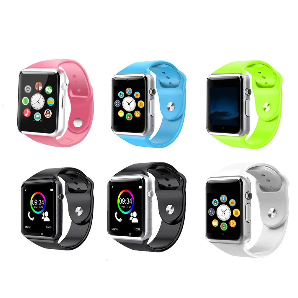 New <font><b>A1</b></font> WristWatch <font><b>Bluetooth</b></font> <font><b>Smart</b></font> <font><b>Watch</b></font> <font><b>Sport</b></font> Pedometer Support 2G SIM TF Camera Smartwatch For Android HUAWEI Apple Samsung image