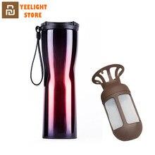 Оригинальный MI Mijia KKF термовакуумная бутылка для воды из нержавеющей стали с чувствительным температурным датчиком кофейная чашка с кофеваркой