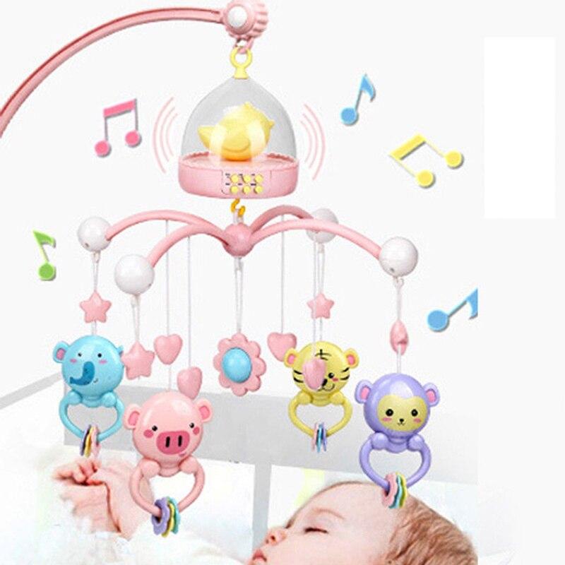 Jouet bébé 0/3/6/12 mois bébé garçon et fille lit intellectuel cloche sonnerie cloche 0/1 an nouveau-né enfant jouet