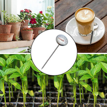 Compost Measure Dial-Display Kitchen-Tools Coffee Stainless-Steel Milk Celsius Soil 127mm