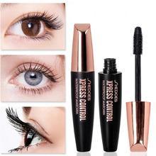 Waterproof 3d Mascara 4D Makeup Lash Mascara for Silk Fiber Eyelash Extension Black Thick Lengthening Eye Lashes Cosmetics недорого