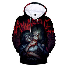 Peculiar 3D Printed Annabelle Hoodies Fashion Men/women High Quality Hooded Sweatshirt Hot Sale New Funny Clothing Casual Winter(China)