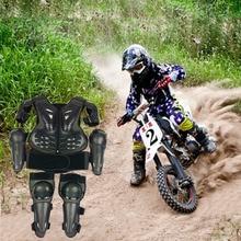 Для роста 0,8-1,7 м, Детский защитный жилет для мотокросса, защитный жилет для горного велосипеда, костюмы для бездорожья, защита от коленного сустава, до колена, LL