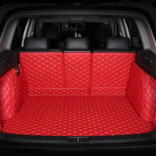 ZHAOYANHUA Car trunk mats for Toyota Land cruiser 4500 LC100 nissan x trail t31 car styling all weather carpet floor liner(China)