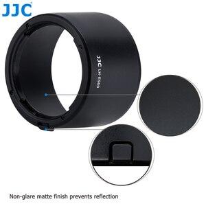 Image 4 - JJC Lens Hood gölge Canon EF M 32mm f/1.4 STM objektif Canon EOS M200 M100 M50 m10 M6 Mark II M5 M3 M50 Mark II değiştirin ES 60