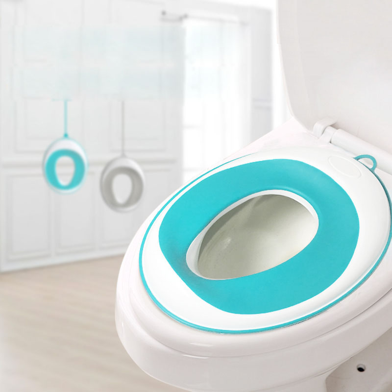 Toddler Baby Potty Training Seat With Hook - Non-Slip Comfortable Kids Toilet Seat For Boys And Girls