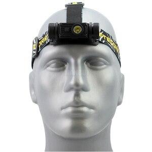 Image 3 - NITECORE HC60 HC60W USB Rechargeable Headlamp CREE XM L2 U2 1000 Lumens Camping Headlight + 3400mAh 18650 Battery Free Shipping
