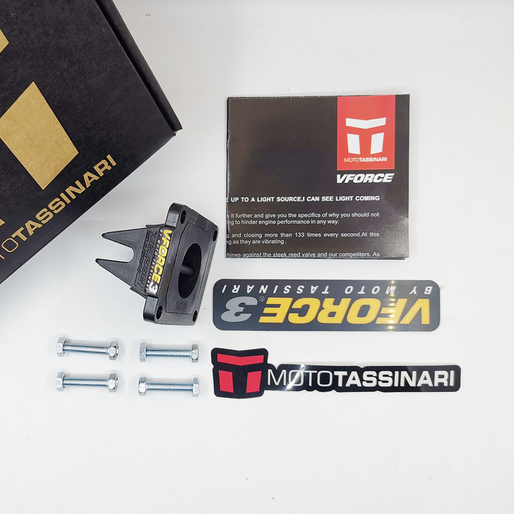 Мото V-Force 3 тростниковый клапан V382S-A для Yamaha YZ85 YZ 85 2002-2019 VForce3 Рид блок