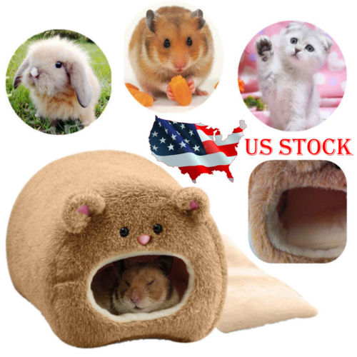 Pet Nest Hamster Bed Warm Hammock Rat Hedgehog Squirrel House Chinchilla Cage
