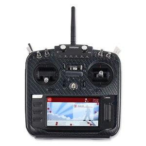 Image 4 - JMT coque de protection en Fiber de carbone RC émetteur panneau avant de haute qualité pour cavalier XYZ série T16 PLUS Pro contrôleur Radio TX