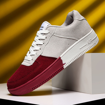 Skateboard shoes trending breathable men shoes comfortable lace up casual shoes sneakers man Zapatos