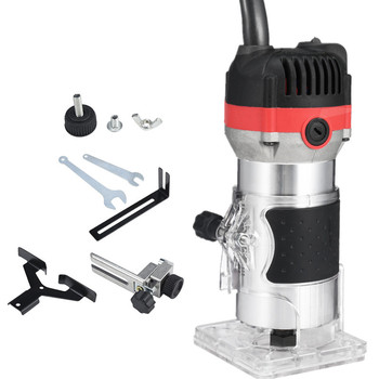 1200W 35000 Rpm Houtbewerking Elektrische Trimmer Hout Frezen Graveren Steken Trimmen Machine Hand Carving Machine Hout Router