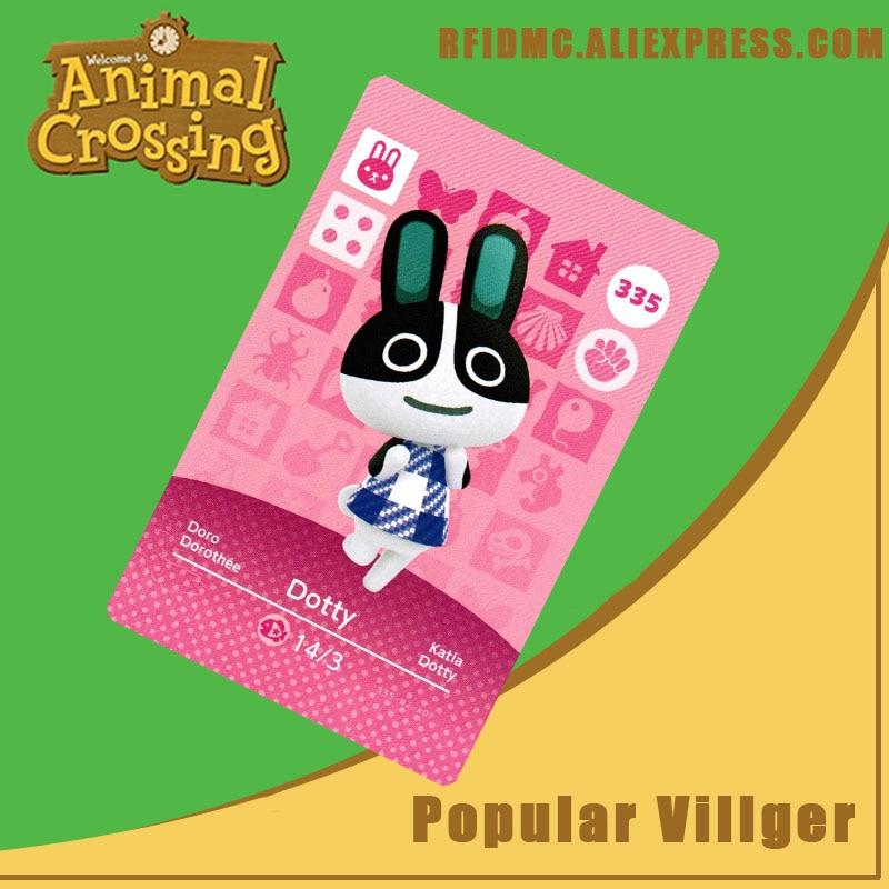 335 Dotty Animal Crossing Card Amiibo For New Horizons
