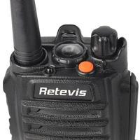 128ch 5w vhf uhf Retevis RT6 Waterproof מכשיר הקשר IP67 5W 128CH Dual Band VHF UHF רדיו FM VOX תצוגה LCD שתי ניידת רדיו דרך (4)