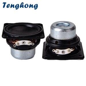 Image 1 - Tenghong 2 sztuk 45MM wodoodporny głośnik audio 18 rdzeń 4Ohm 10W gumowa krawędź głośnik pełnozakresowy jednostka plac Bluetooth głośniki