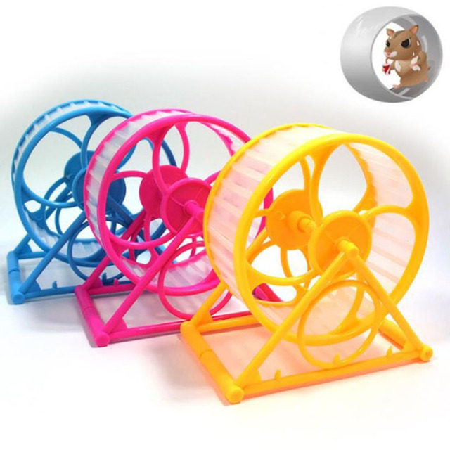 Plastic Scroll Toy for Small Animals Hamster Mouse Rat Exercise Running Pets Hamster Guinea Pig Hamster Toys