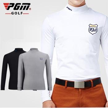 Autentyczne Golf odzież męska z długim rękawem koszule najniższy koszulki mężczyźni oddychające szybkie suche Golf topy odzież sportowa Plus rozmiar tanie i dobre opinie Pełna COTTON spandex Pasuje prawda na wymiar weź swój normalny rozmiar Anty-pilling Oddychająca CC0036 Suknem