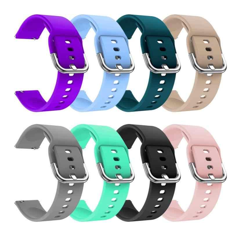 ساعة ذكية حزام ل سامسونج S2 الرياضة/غالاكسي نشط ساعة R500 42 مللي متر سوار اكسسوارات لينة سيليكون الذكية المعصم