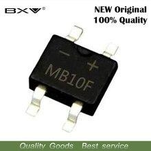 20pcs MB10F MB10 SOP4 1A 1000V SMD Retificador Pilha Ponte