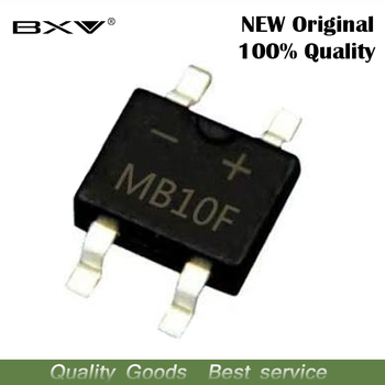 20pcs MB10F MB10 SOP4 1A 1000V SMD Bridge Stack Rectifier - discount item  9% OFF Active Components