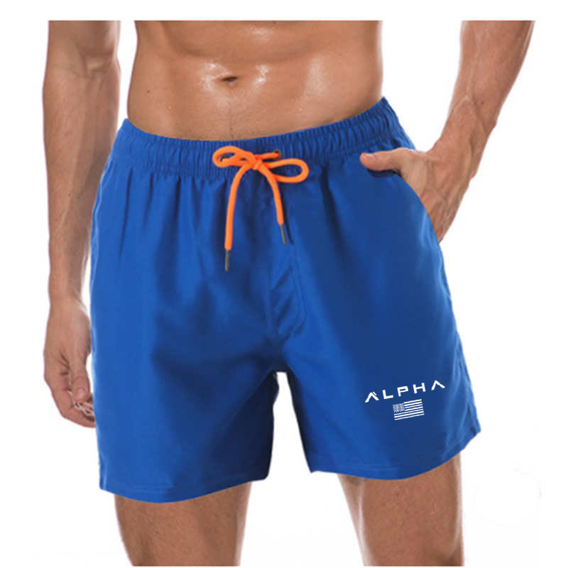 New Brand Men's Swim Shorts Swimwear Trunks Men Beach Shorts Mens Swimming Short Swimsuits Mens Running Sports Surffing Shorts