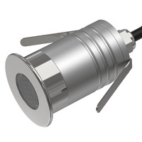 Landscape Lighting 1W with 220V Driver Adapter IP67 CREE Downlight 12V 24V Mini LED Ceiling Lighting