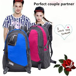 7 colors men and women outdoor backpack hiking backpack shoulder bag camping hiking hiking backpack