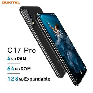 "Image 2 - Oryginalny OUKITEL C17 Pro 6.35 ""19:9 Android 9.0 telefon komórkowy MT6763 octa core 4G RAM 64G ROM odcisk palca 4G 3900mAh Smartphone"