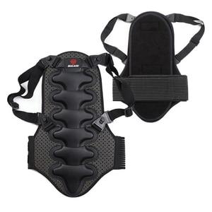 Image 2 - 2019 kayak spor geri yelek koruma yeni çıkarılabilir kayak vücut zırhı Backpiece arka koruyucu koruyucu vücut omurga siyah