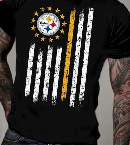 Steelers American Rugby Football Team T-Shirt