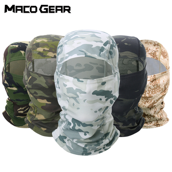 Camouflage Tactical Outdoor Balaclava Full Face Paintball Biker Hunting Hiking Cycling Army Sport Mask Military Liner Scarf Cap aa shield camo tactical scarf outdoor military neckerchief forest hunting army kaffiyeh scarf light weight shemagh woodland