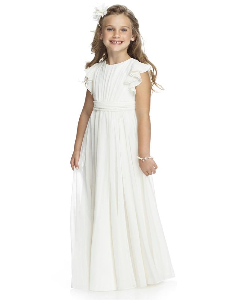 Vestido Primera Comunion 2015 Vintage White First Simple Communion Dresses For Girls 2015 Cheap Flower Girl Dresses For Weddings
