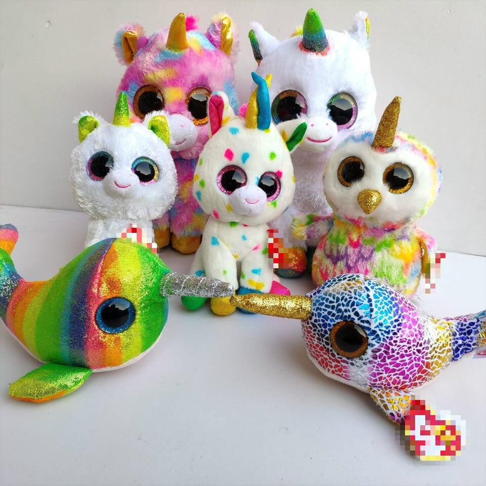 Unicorn Blitz Giselle Harmonie Pixy Pegasus Sunset Lion Nori Fish Enchanted Owl Ramsey Lion Diamond Unicorn Plush Soft Toys