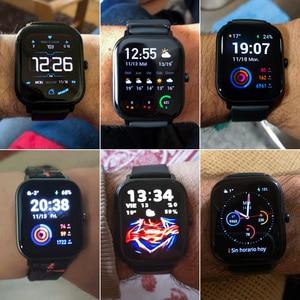 Image 5 - Amazfit GTS הגלובלית גרסה חכם שעון smartwatch GPS ריצה ספורט קצב לב 5ATM עמיד למים צמיד AMOLED Amazfit