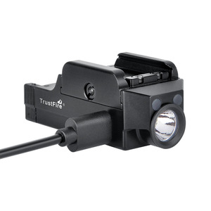 Image 3 - Trustfire GM21 Tactical Flashlight Weapon Light USB Rechargeable Pistol Light Hunting Headlight For Glock Picatinny Firearms