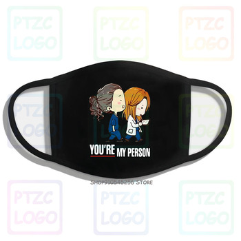 Grey'S Anatomy You'Re My Person Mouth Face Mask