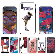 HOUSTMUST Cute anime MOON GIRL Picture custom soft silicone phone case for iphone x xr xs max 6 6s 7 8 plus 5s se 5  cover shell