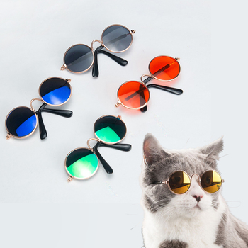 Pet Cat Glasses Dog Glasses Pet Products for Little Dog Cat Eye Wear Dog Sunglasses Photos Props Accessories Pet Supplies Toy 5