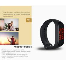 Smart Armband Thermometer Armreif Armband Smartwatch Körper Temperatur Überwachung Intelligente Thermometer Armband Fastshipping