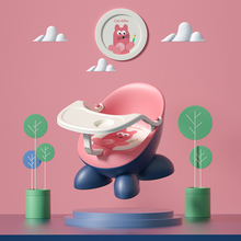 Multifunctional Baby Dining Chair with Dinner Plate Baby Stool with Back Seat Portable Infant Stool Seat Cushion Home Furniture