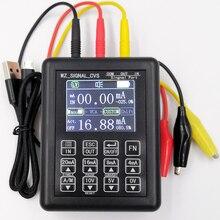 Precyzja 4 20mA 0 10V Generator sygnału proces sterowania kalibratorem sygnału źródło prądu stałego symulator 0 20mA